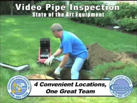 MASS Pipe Camera Inspection for Sewer & Drain Pipes