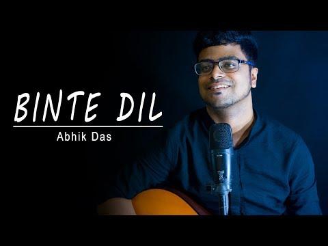 Binte Dil - Padmaavat   Arijit Singh   Acoustic Cover by Abhik Das   Ranveer Singh