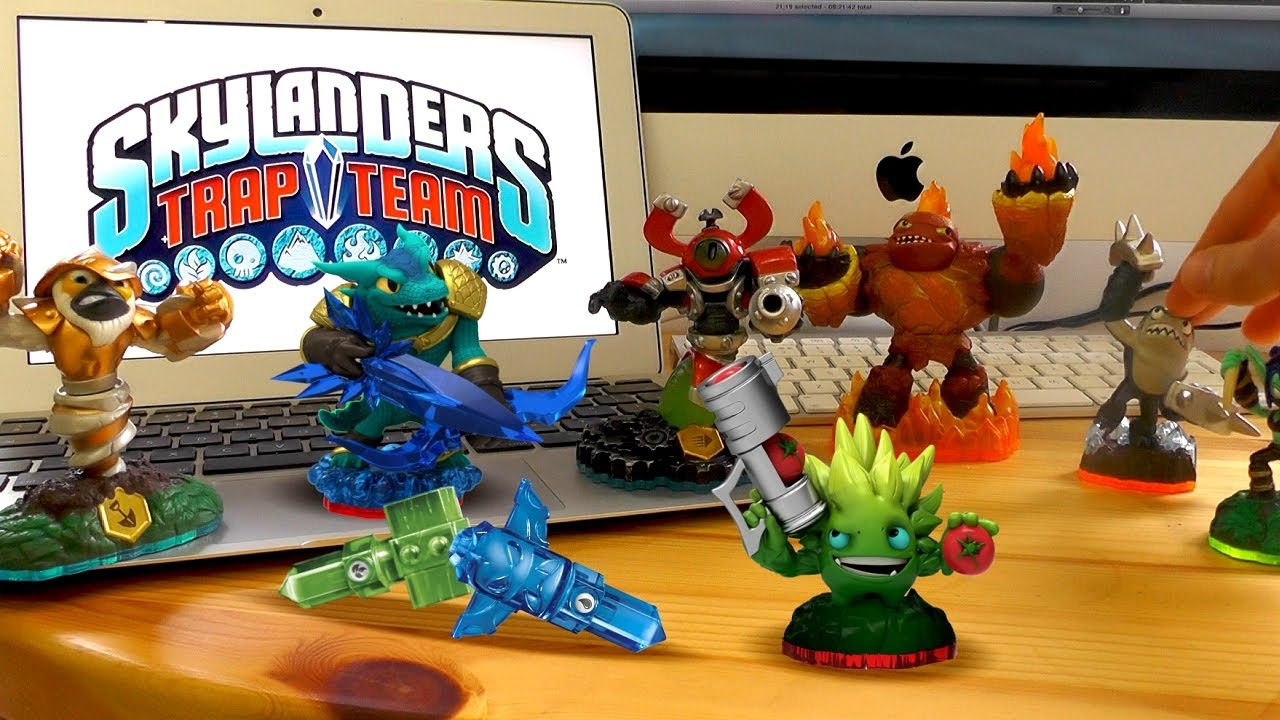 Uncategorized Skylanders Trap Team Videos skylanders trap team starter pack review new light dark elements youtube