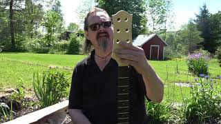 Warmoth 8 String Bass Neck. -Plus other goodies! Unboxing and review.