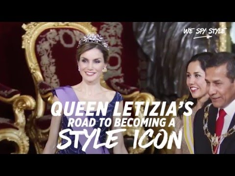 Queen Letiza's High Fashion Royal Transformation