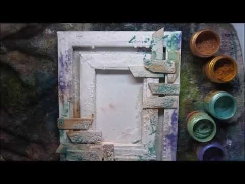 Mixed Media Canvas Ideas Easy Craft Ideas