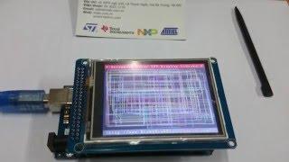 [Mlab] Hướng dẫn lập trình màn hình cảm ứng TFT 3.2inch và Arduino Mega 2560