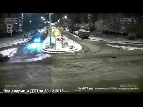 Дорожные войны, все аварии и ДТП за 30.12.2015