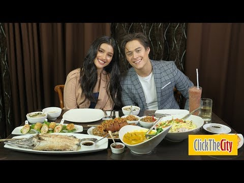 Interview with the Hungry: Enrique Gil and Liza Soberano | ClickTheCity