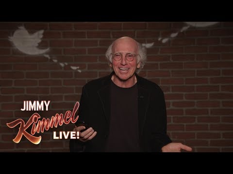 Download Youtube: Larry David Outtakes – Mean Tweets About Jimmy Kimmel