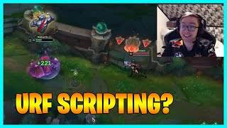 URF Scripting? LoL Daily Moments Ep 1374