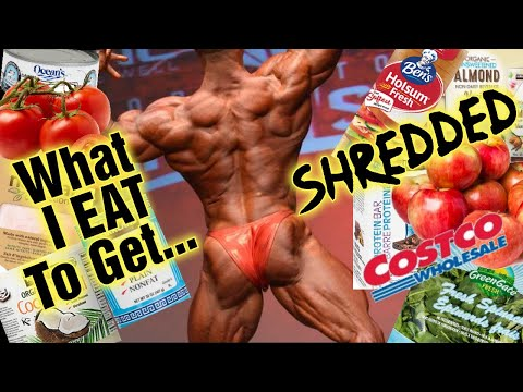 Costco Grocery Shopping - My Diet to Get Ripped!!  Secrets (How I Eat Revealed)!!! thumbnail
