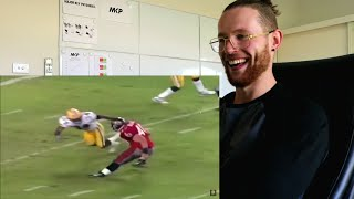 Rugby Player Reacts to TOP 10 White Running Backs in NFL History Youtube Video