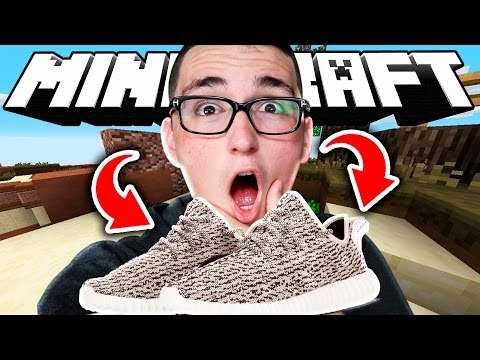 BETTING YEEZYS ($1000+ SHOES) IN MINECRAFT!! (Minecraft Betting)