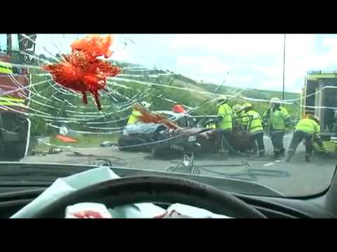 SMS Text Messaging  Car Accident
