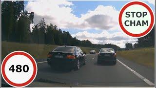 Stop Cham #480 - Niebezpieczne i chamskie sytuacje na drogach