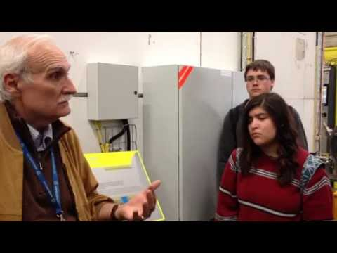 CERN Visit - How a particle pre-accelerator works