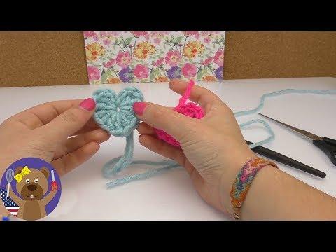 Crochet Heart Tutorial | DIY For Beginners | Gift Or Key Chain