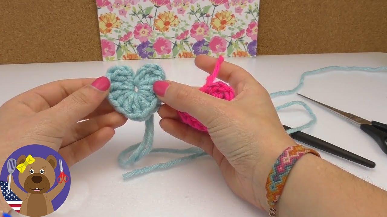 Amigurumi for Beginners (Amigurumi) Crochet Heart Keychain Making ... | 720x1280
