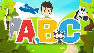 Learn the French Alphabet with Zakaria | ABC Letters in French