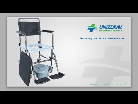 Toaletný vozík na kolieskach - VIDEOMANUÁL