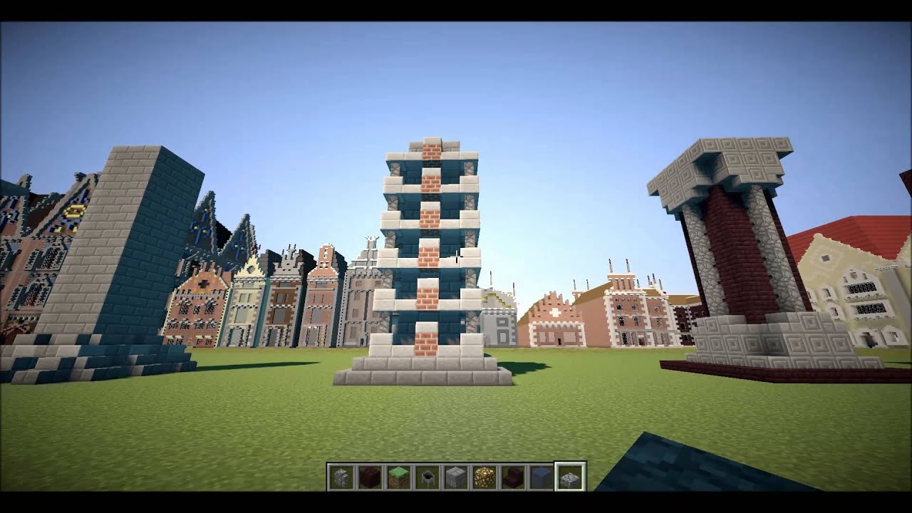 20 column pillar ideas minecraft let 39 s build details youtube for How to build a house on pillars