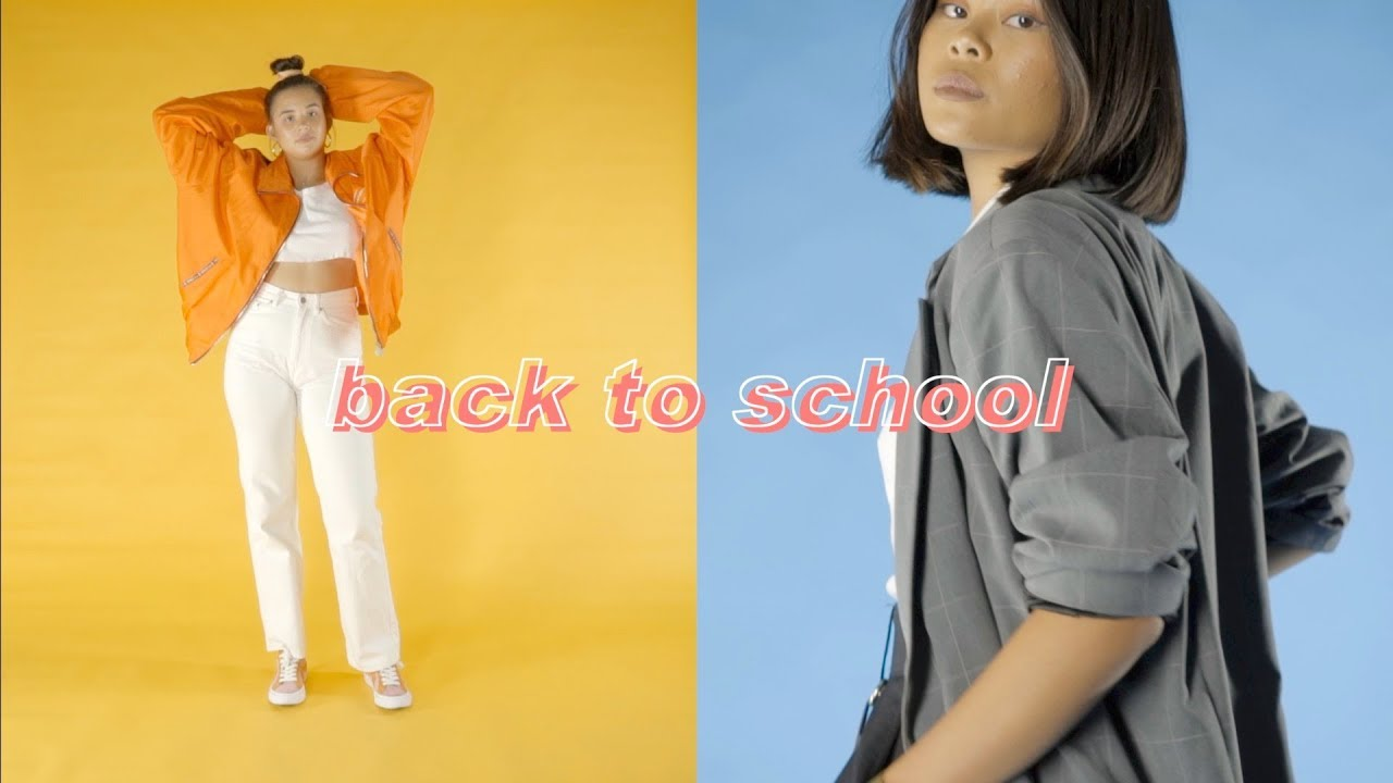 [VIDEO] – 10 BACK TO SCHOOL OUTFITS | College/High School Lookbook 2018