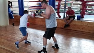 Developmental coordination disorder (DCD) Child after 6 months Boxing therapy