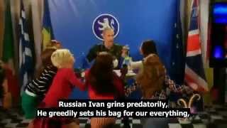 Russia attacks Sweden parody