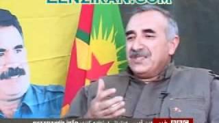 Pkk=مصاحبه بارهبر پ ک ک درباره پژاک وارتباط با دولت ایران