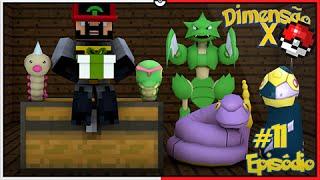 Minecraft DIMENSÃO X #11 - PRESENTE DA #LOFS PARA NioBloGames [Pixelmon]