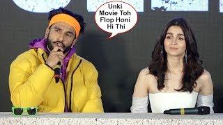 Ranveer Singh Makes Fun Of Three Khan's Flop Films And Praises His Hit Movie Simmba