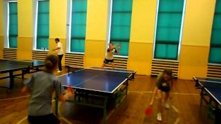 Table Tennis - Summer Camp in Rucava, Latvia (2012)