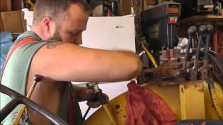 Homemade 3 Point Log Splitter Pt 3