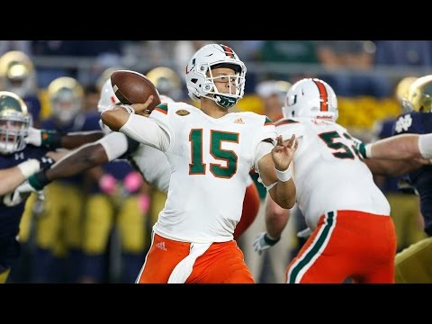 Brad Kaaya Highlights 2016