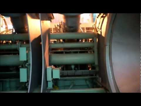 Container Ship Engine Room Tour