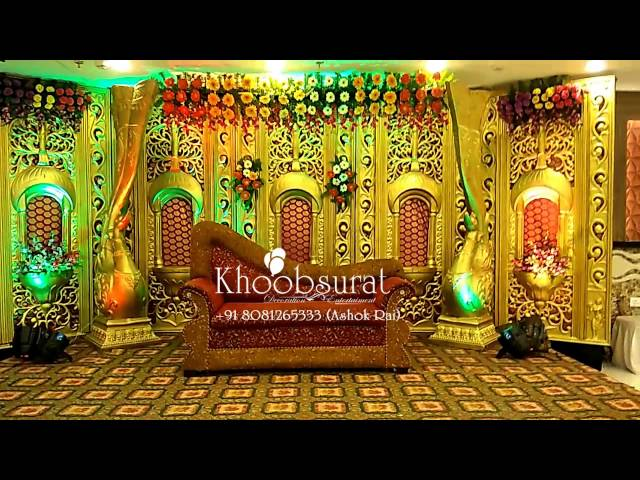 wedding stage decoration khoobsurat decoration 8081265333