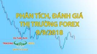 Phân tích, đánh giá thị trường Forex 9/9/2018