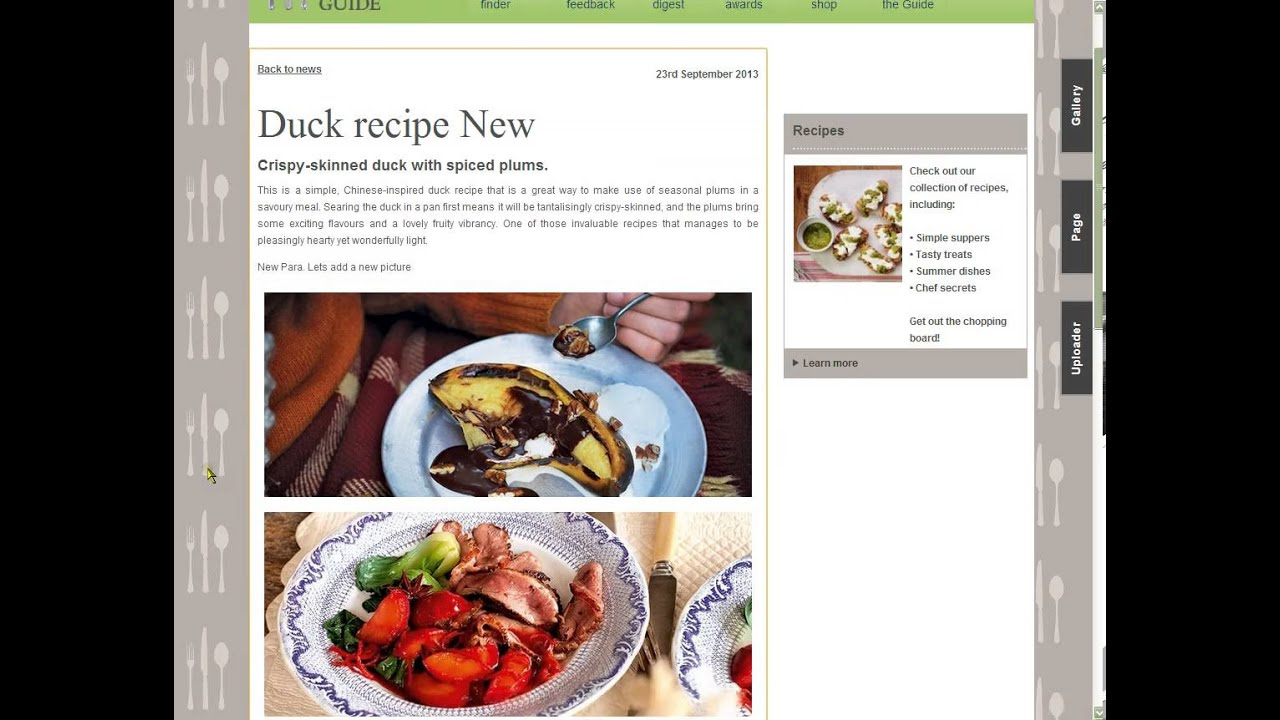 The good food guide ama dataset cms youtube the good food guide ama dataset cms forumfinder Image collections