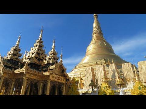 Shwedagon Pagoda : Yangon November 2017