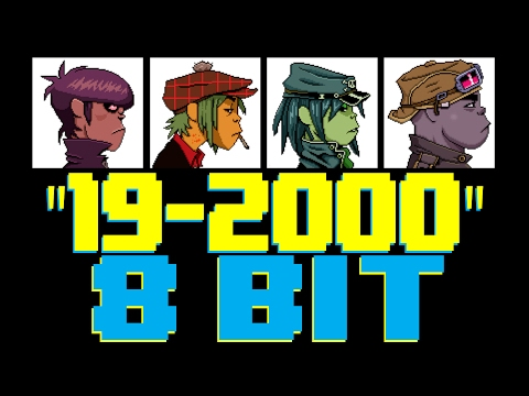 192000 8 Bit Universe Tribute to Gorillaz