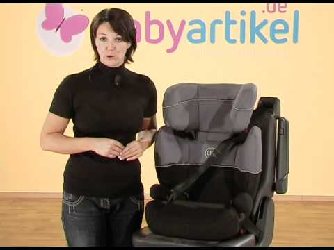cybex freefix kindersitz gr 2 3 youtube. Black Bedroom Furniture Sets. Home Design Ideas