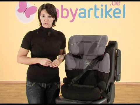 cybex freefix kindersitz gr 2 3 youtube. Black Bedroom Furniture Sets. Home Design Ideas