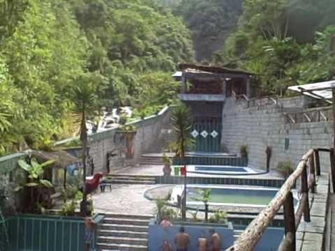 The Hot Springs at Aguas Calientes