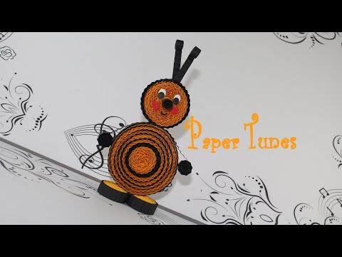 Paper Quilling Toy / Bee