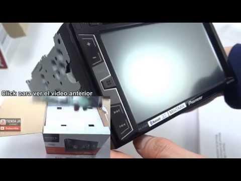 Unbox Radio Para Auto Tuning Car Audio Pioneer AVH-X2750BT Pantalla Táctil 6.2
