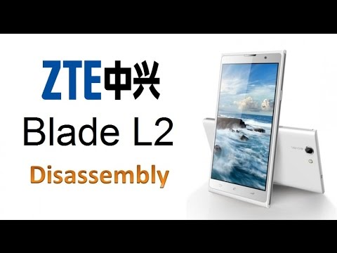 ZTE Blade L2 Disassembly / Screen Replacement / Digitizer Replacment