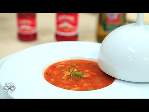 Choumicha : Soupe de légumes au riz  : شميشة : حساء الخضر بالأرز