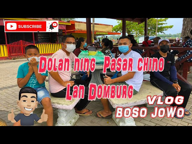 Vlog Jowo sonko Suriname - Dolan ning pasar chino lan Domburg
