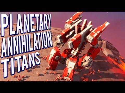 8V8 LAVA PLANET TEAM ARMIES 16 PLAYERS! PLANETARY ANNIHILATION TITANS GAMEPLAY 🤖🤖🤖🤖🤖🤖🤖