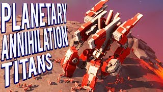 8V8 LAVA PLANET TEAM ARMIES 16 PLAYERS! PLANETARY ANNIHILATION TITANS GAMEPLAY 🤖🤖🤖🤖🤖🤖🤖