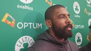 Kyrie talks All-Star, says he
