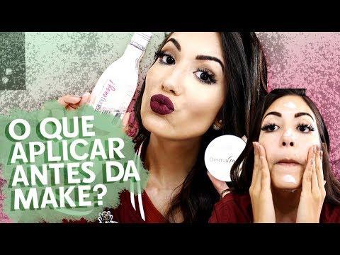 COMO PREPARAR A PELE ANTES DA MAQUIAGEM?! + RESENHA DERMAGOLD   Camila Lima