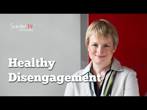 What is meant by healthy disengagement? by Rita McGrath, Author of The End of Competitive Advantage